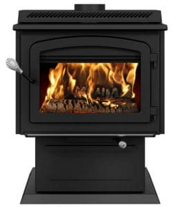 Drolet HT3000 wood stove fireplace