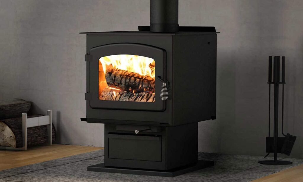 Drolet HT2000 Wood Stove Fireplace