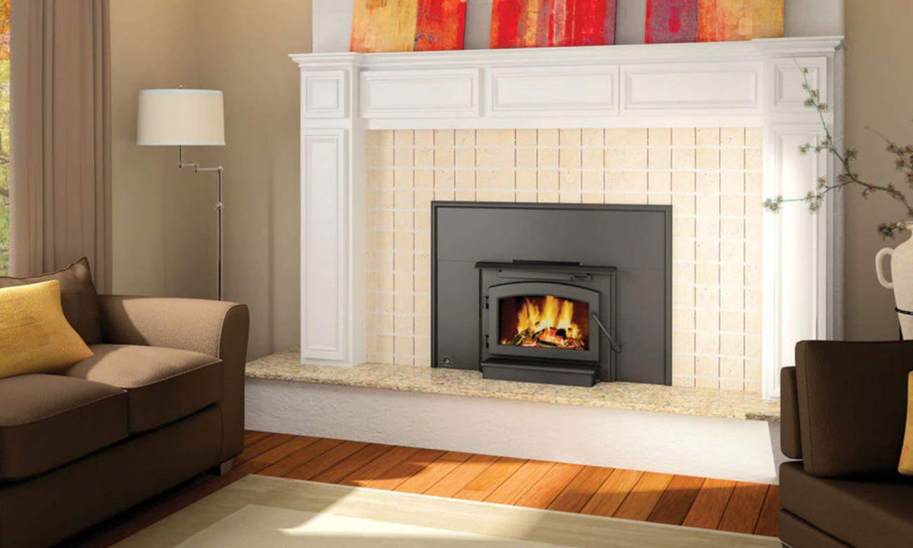 Timberwolf Ecnomizer EPA Wood Burning Fireplace