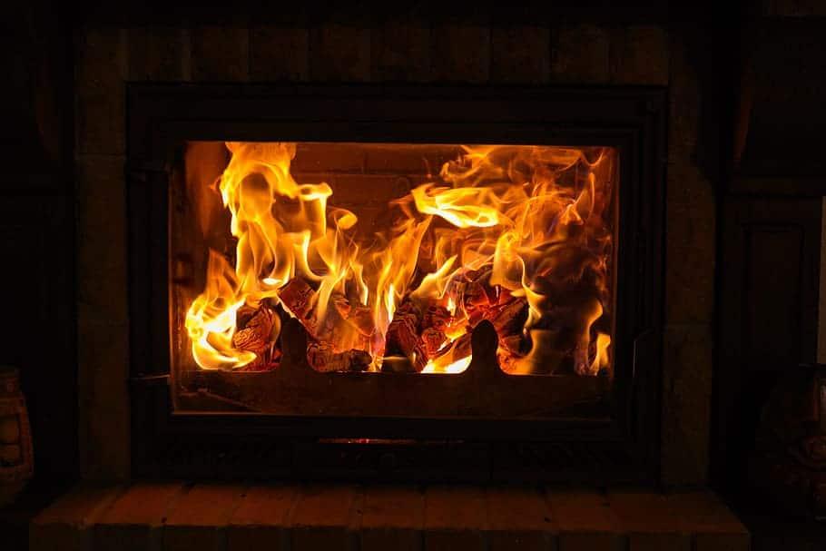 gas fireplace burn good