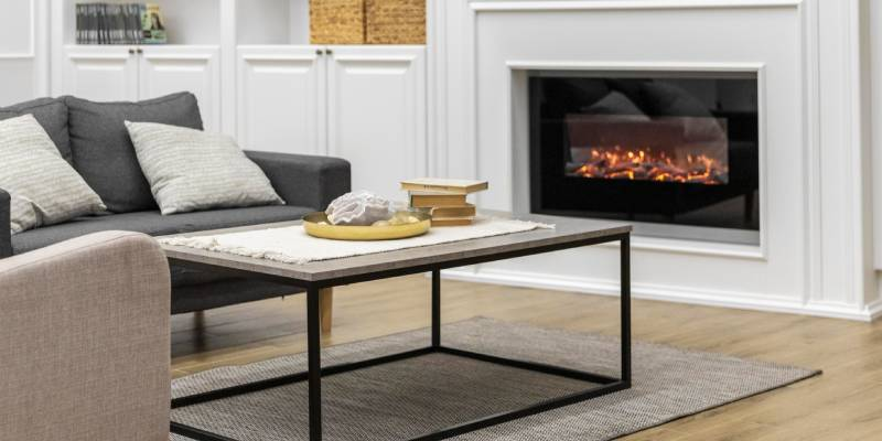 gas fireplace conversion to wood burning fireplace