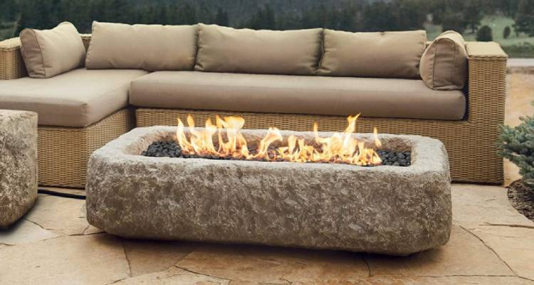 Stanbroil Lava Rocks - Best Firepit Rocks